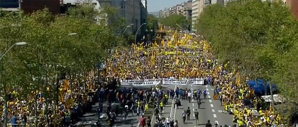 The Rise Of Catalonia's Independence Action